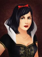 Snow White by Haeaswen