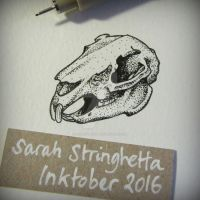 Inktober 2016 day 20 by saraquarelle