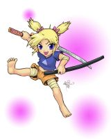 Aki Chan FIGHTO by sykoeent