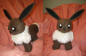 Eevee Plush, More Views by xxtemporaryinsanity