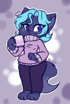 Hot Chocolate  by NicoleTheBlueCat