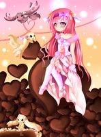 valentine chocolate princess by chizuchiyoko