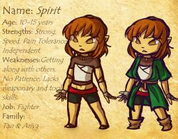 OC: Spirit Bio by Linkerbell