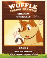 Wuffle Comics : The New Overalls 2/10 by PitiYindee