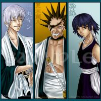 Bleach Bookmarks Set 2 by Ranefea