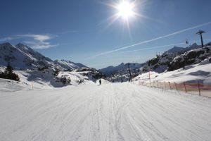 skiing with my canon by rok993