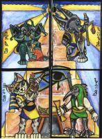 Jr Egyptian Gods by lemurkat