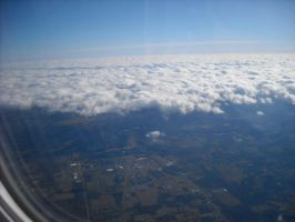 view of clouds by MissElsy