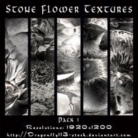 Stone Flower Textures Pack 1 by BFstock