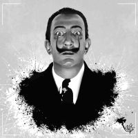 Salvador Dali by CarlosMatallanaDiaz