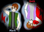 Mark and Seth by TOBOEANDHIGE