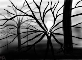 Slender Man by LemonyAnna