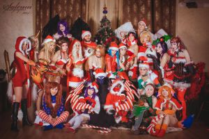 Russian Cosplay League of Legends - New Year by MasyFox