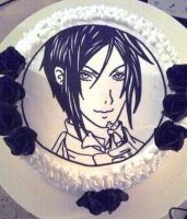 Finished Sebastian cake by Bluesoul1