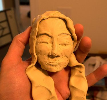 Modeling Clay Maiden by BrianZG