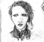Marilyn Manson by dannabannana