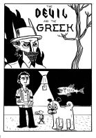 The Devil and the Greek Cover by madtiki