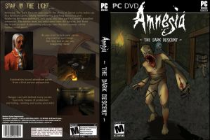 Video Game Cover - Amnesia by Kakete