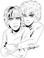 Richard and Syd by ZombieNapalm