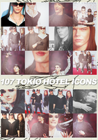 Icons: Tokio Hotel set2 by Mariesen