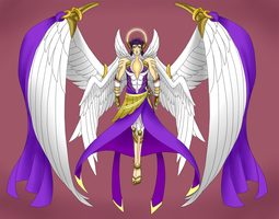 Archangel Zadkiel by Defying-Destiny