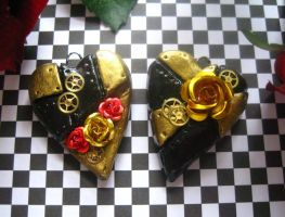 Pair of Hearts: Royal Roses by Cevangel