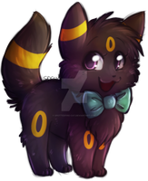 I has Bow -Commish- by Spottedfire-cat
