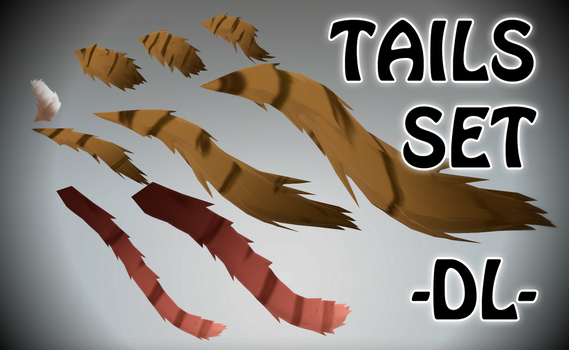 Cat Ears And Tails Mmd