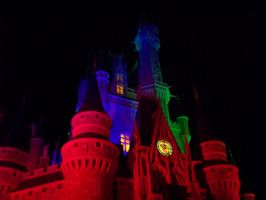 Colorful Cinderella's Castle by Dream-finder