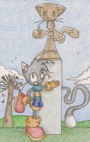 Present Meets Past :3 by wisp2007