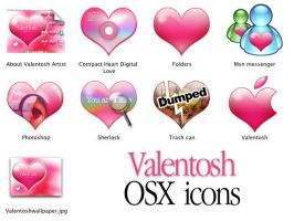 Valentosh OSX Icons by pinkpainter