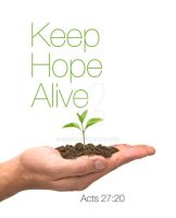 Keep Hope Alive by cgitech