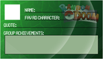 RD-FC Membership Card 4 - Grass Card by MonkeyKingHero