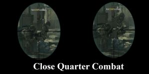 Close Quarter Combat Very Close by Ghost141