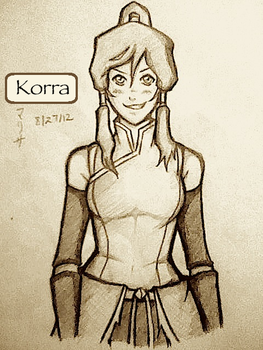 Korra Attempt by NinjaRisa
