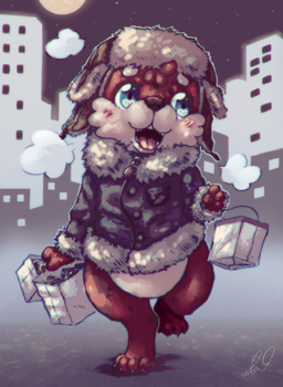 Last-Minute Shopping by HalcyonMoufette