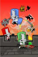 Castle Crashers by LordWonk