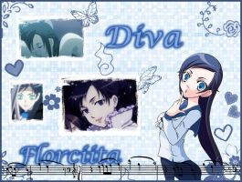 my wallpaper of Diva by Florciita