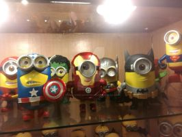 Minions superheroes by thereanimatedunknown
