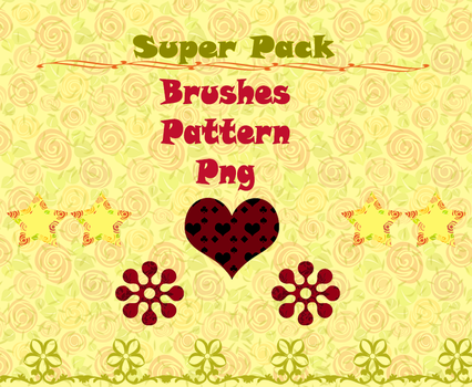 Photoshop Brushes and Patterns Pack by Blume-Art