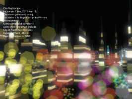 City Nightscape 2011 March h by ibr-remote