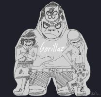 Gorillaz by StardogChampion94