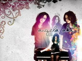 Angela Aki piano wallpaper by crazee-ass