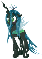 Queen Chrysalis by PatchNpaw