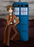 Collab: Travel with the TARDIS by JaviDLuffy