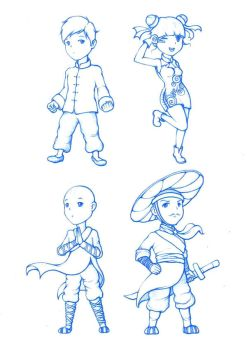 4 Heads Proportion by AnAn5538