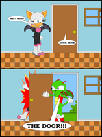 Sonic - Cameron Short Comics - The Door XD by LGee14