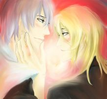 Smiling only with you, taichou by wonderparade