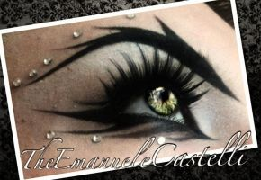 Graffiti Eyeliner - Make up by TheEmanueleCastelli