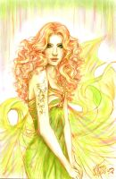 Lady Luck - Coloured by I-Andreea-I